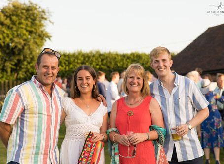 Photographing a family party of multiple celebrations near Canterbury!