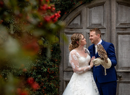 The most beautiful Harry Potter themed wedding at Winters Barns, Canterbury, Kent