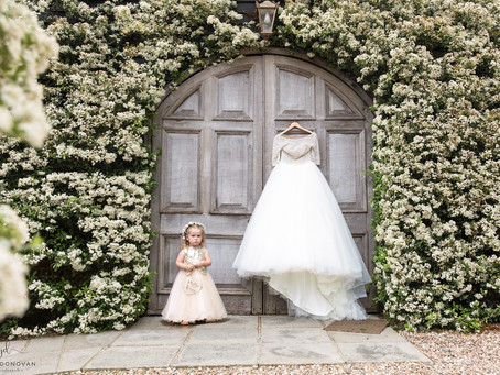 'When I grow up i'm going to be just like my Mummy'- Kent wedding photographer Winters Barn