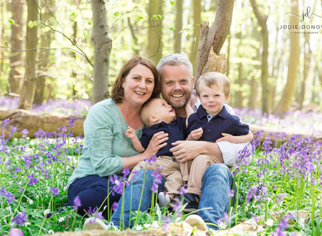 Kent Bluebell Family Photography