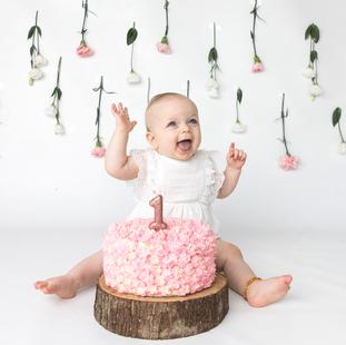 Amelia cake smash
