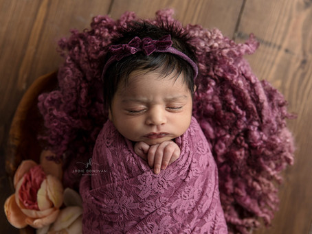 Kent newborn baby photographer in your own home