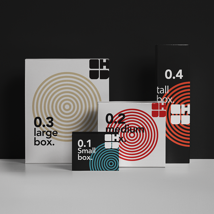 Tech products branding