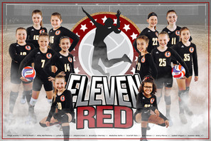 Team Poster - 11 Red