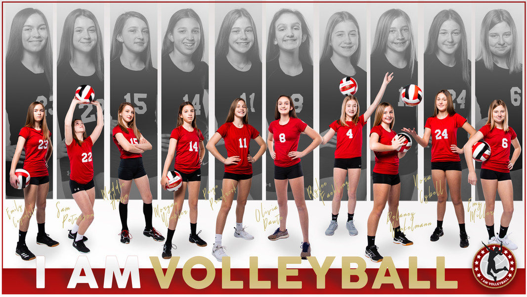 I AM Team Poster - 13 Red