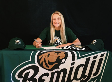 TAYLOR KOT Playing for Bemidji State