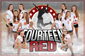 Team Poster - 14 Red