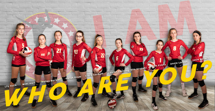 2019 - I AM Volleyball Poster