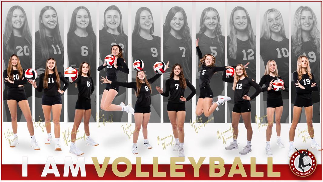 I AM Team Poster - 17 Black