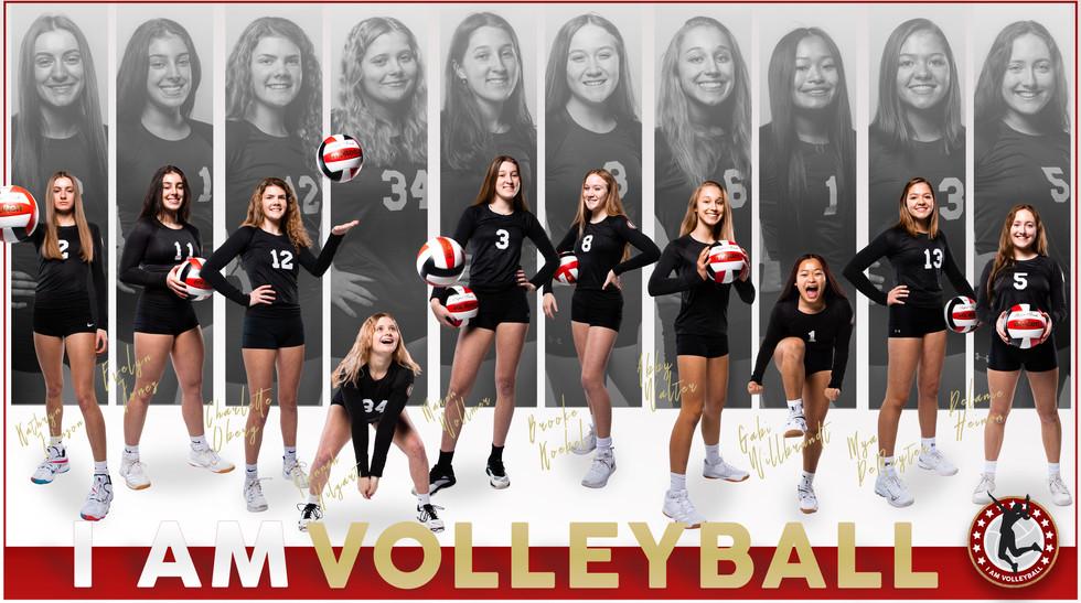 I AM Team Poster - 16 White