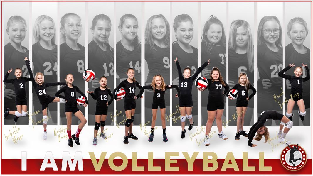 I AM Team Poster - 11 Black