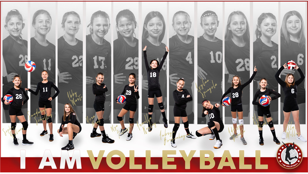 I AM Team Poster - 11 Red