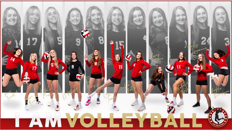 I AM Team Poster - 16 Black