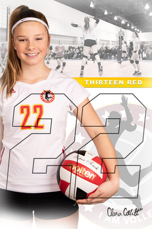 2019 I AM Volleyball Player Poster