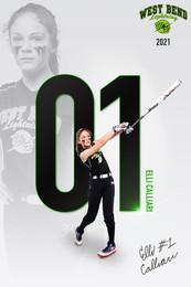 2021 West Bend Lightning Player Poster