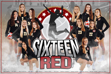 2020 I AM Volleyball Team Poster