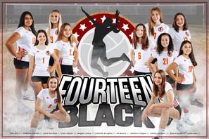Team Poster - 14 Black
