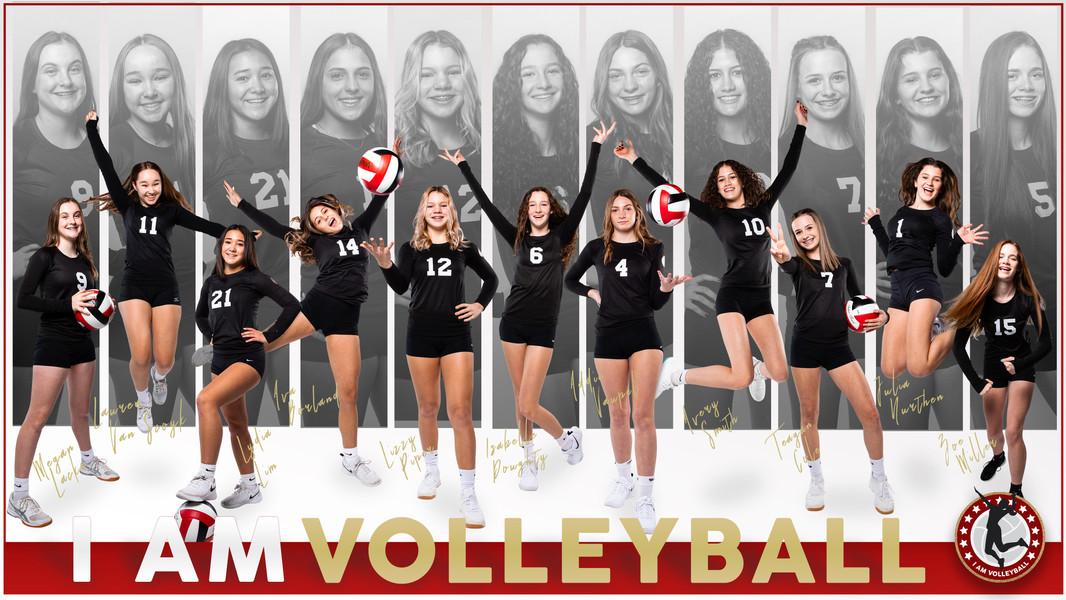 I AM Team Poster - 15 White