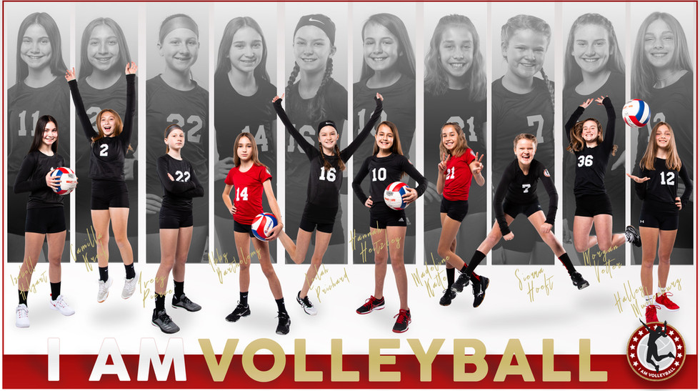 I AM Team Poster - 12 Red