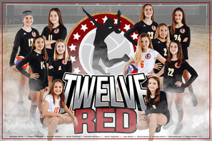 Team Poster - 12 Red