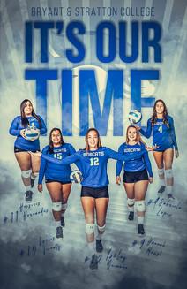 2019 Bryant & Stratton Senior Volleyball Poster