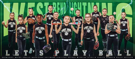 2021 West Bend Lightning Team Poster