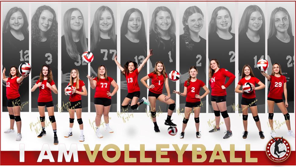 I AM Team Poster - 13 Black
