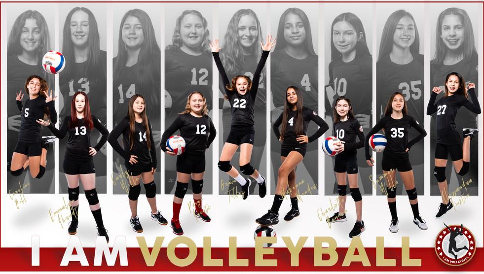 I AM Team Poster - 12 Black