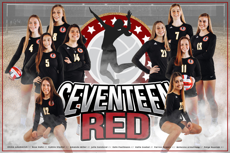 Team Poster - 17 Red