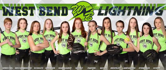 2019 West bend Lightning Poster