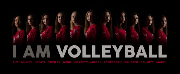 2018 I AM Volleyball Poster