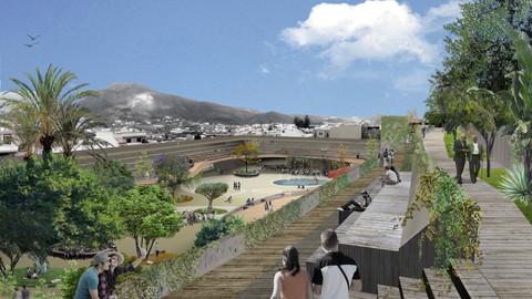 Concurso Parque urbano en Gáldar