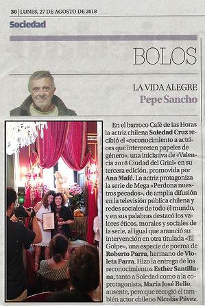 Valencia ciudad del Grial reconocimiento artístico Centro Óptico Losan