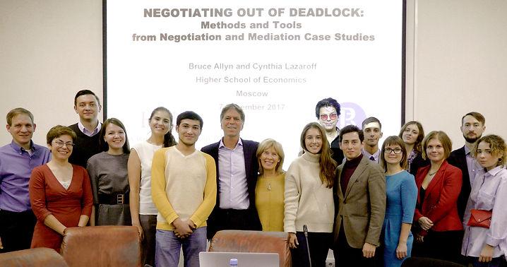 BJA CL Negotiation Seminar HSE Moscow De