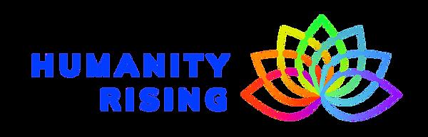 Horizontal Logo_HumanityRising_rainbow-8