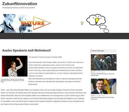 Zukunftinnovation Carina Frei