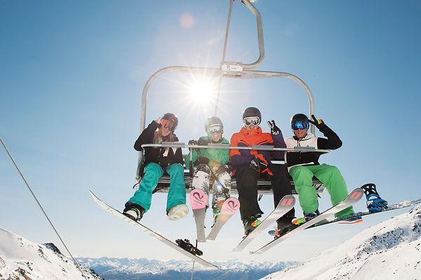 Ski The Remarkables, Queenstown, New Zealand