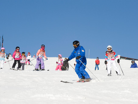 What To Expect from Your First Ski or Snowboarding Lesson
