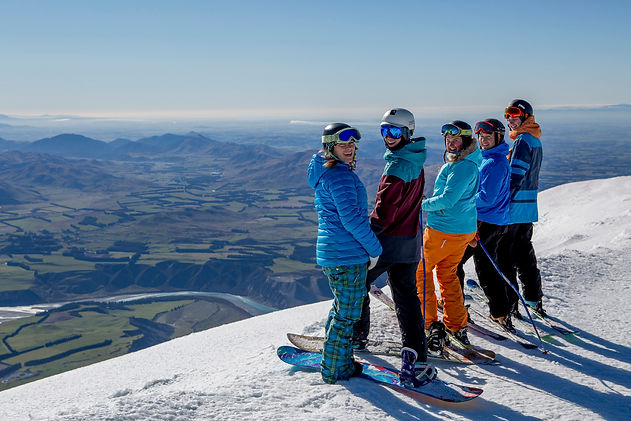 Ski Queenstown's Remarkables and Coronet Peak. Image provided by C Stoddart