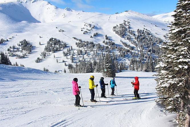 Jasper Marmot Basin Ski trip