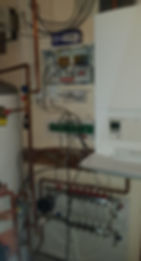 Vaillant system boiler with unvented cyl