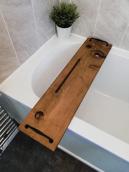80cm bath caddy with handles