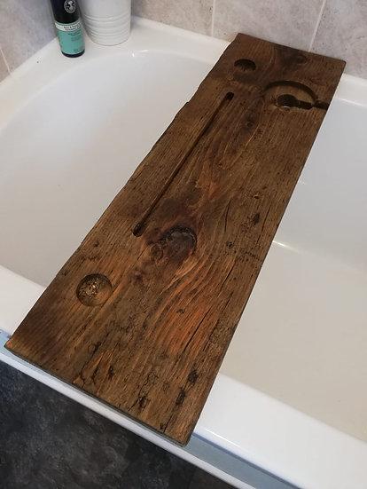 70cm Reclaimed Bath Caddy