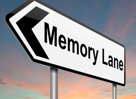Why a trip down memory lane is good for you!
