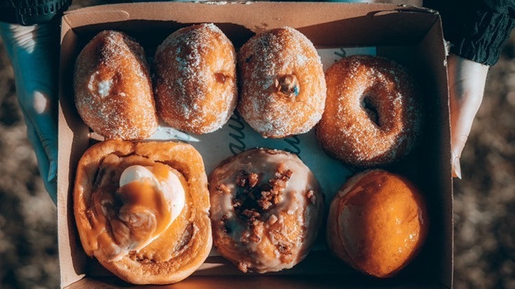 Fathers Day Mixed Doughnut Box