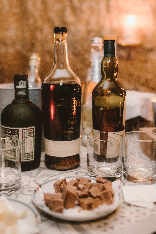 degustazione rum location le 7 fonti