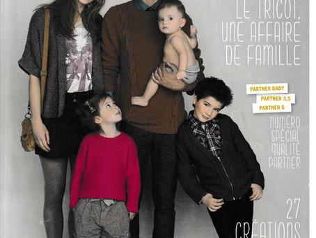 Catalogue 92 de Phildar, Famille Partner