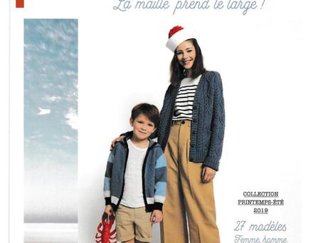 Catalogue 167 de Phildar, Famille été