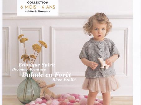Catalogue 159 de Phildar, Petit enfant hiver