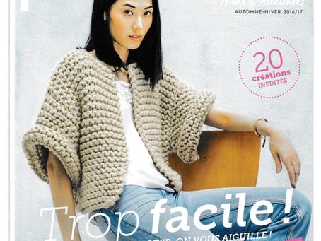 Catalogue 137 de Phildar, Femme hiver facile